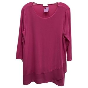 Vince Camuto Pink Tunic